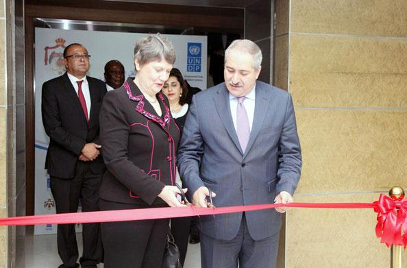 helenclark-ribboncutting-hub-amman-petra photo